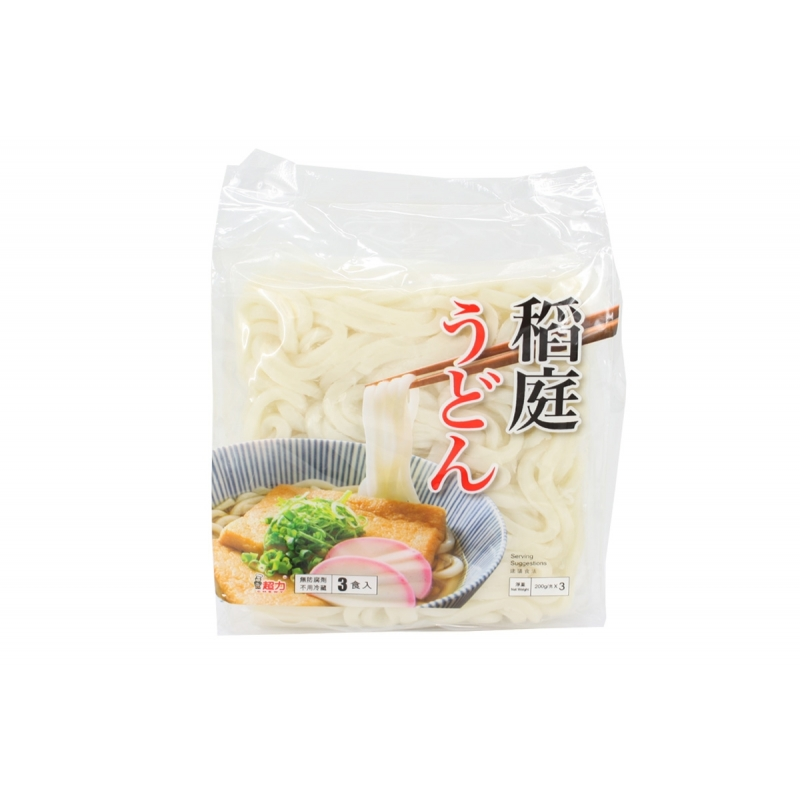 Chewy Inaniwa udon (3 pc pack)