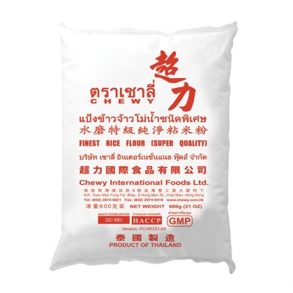 Chewy finest rice flour 600g